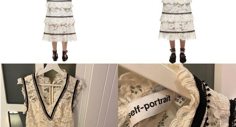 فستان self-portrait للبيع